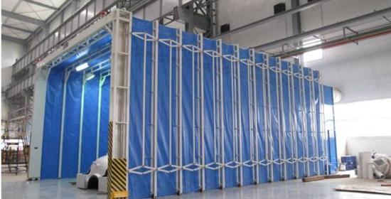 移动式伸缩喷漆房工作原理和优势