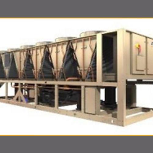 约克   变频螺杆式风冷冷水机组YVAA系列