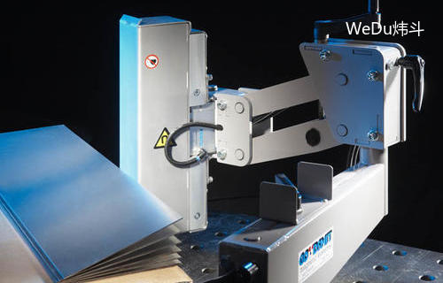 Goudsmit磁铁在金属板的磁分离,提升和定位上的应用