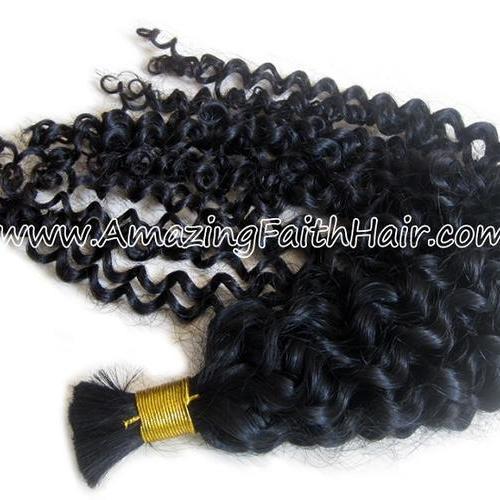 Braiding Bulk Hair Curly