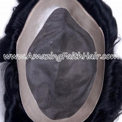 Toupee Men Wig 10X7