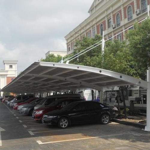 膜结构车棚成为现代化的永久建筑