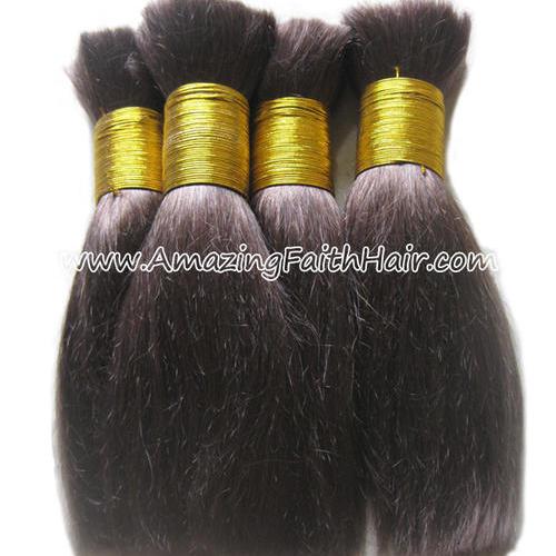 Bulk Braiding Hair Brown
