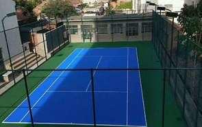塑胶网球场施工过程中底层的处理方法!