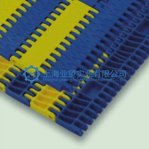 10平板条纹塑料网链