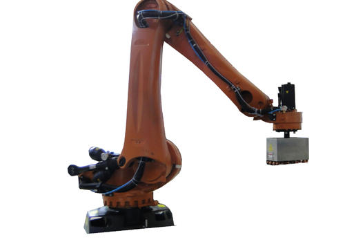 KUKA palletizing robot