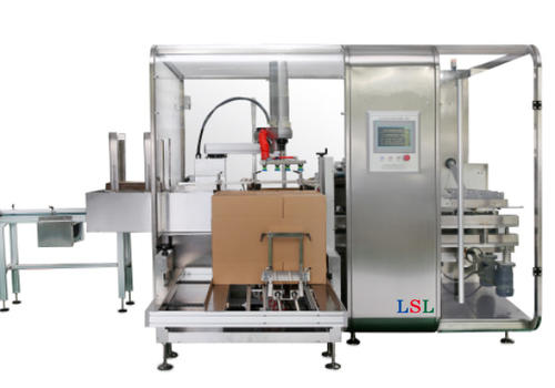 Intelligent robot packing machine