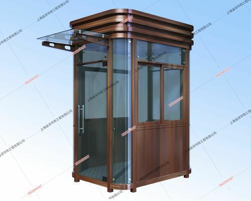 钢结构岗亭YZ-GJG011