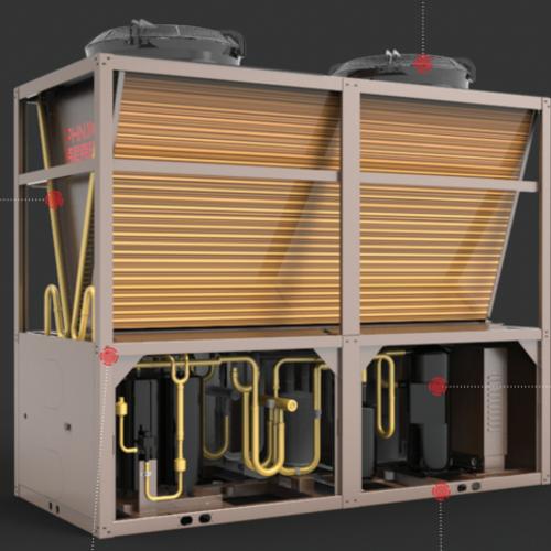 芬尼克兹-空气源模块热泵机组