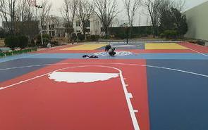 硅PU篮球场材料在施工过程的整个注意事项!