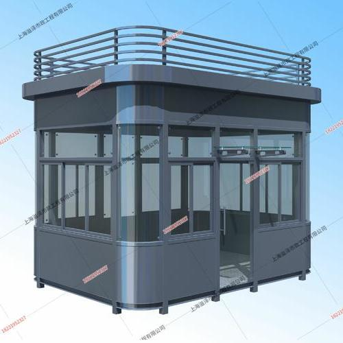 钢结构岗亭YZ-GJG010