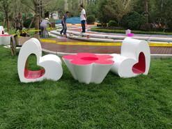 大连地产示范区景观雕塑