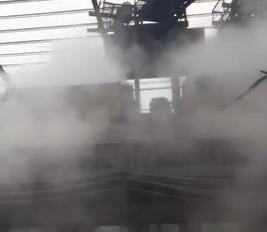 巢湖白胜天一矿山喷雾除尘