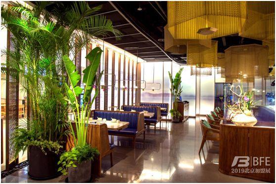 新辣道餐厅内部