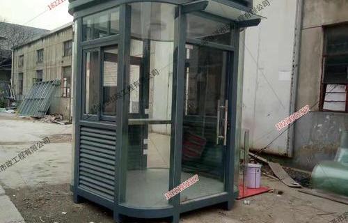 朱家角钢结构门卫亭2米*2米*3米