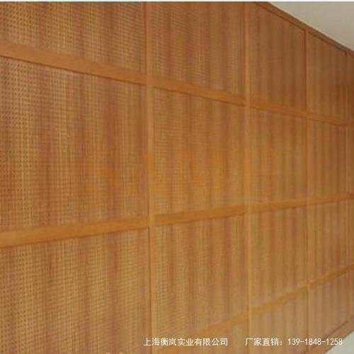 衡岚吸音板墙面装修