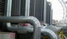 大型餐饮广场屋面空调设备安装现在