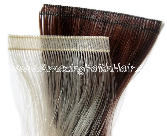 Flat PU Weft Hair AFHH.jpg