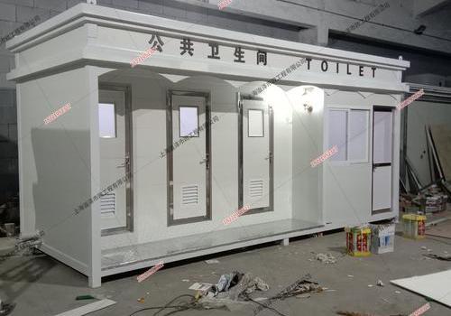 2个移动厕所6米*2米*3米送闵行区