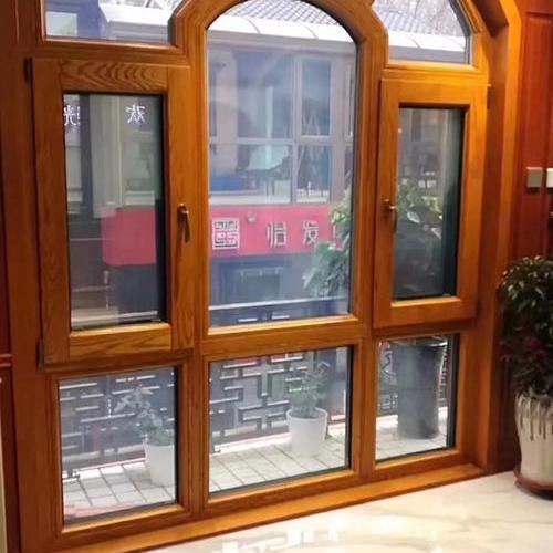 异形铝木复合窗