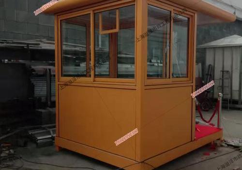 镀锌板站台岗亭2.7米*2米*2.8米送福建