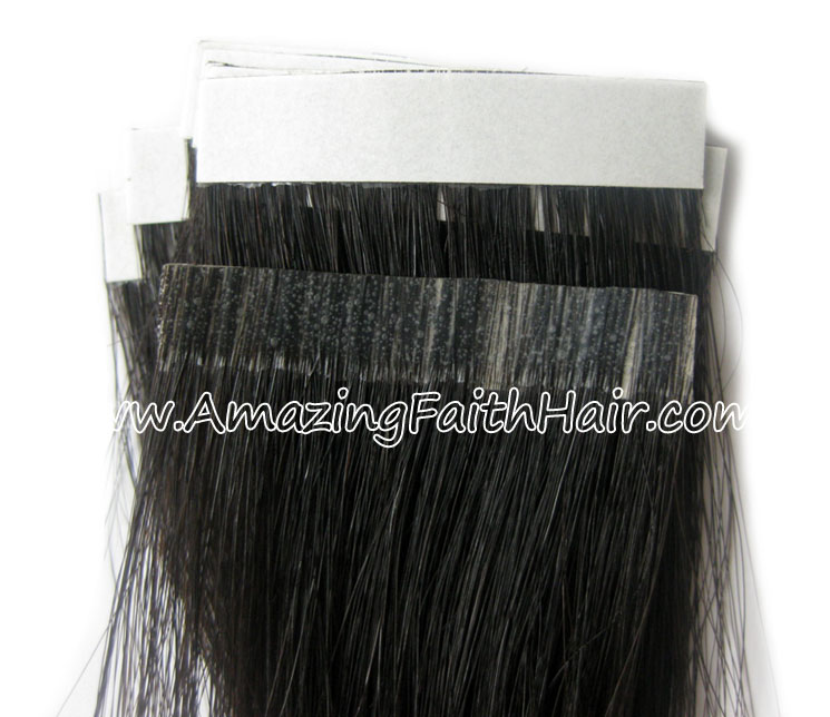 Tape-on PU Weft Hair AFH.jpg