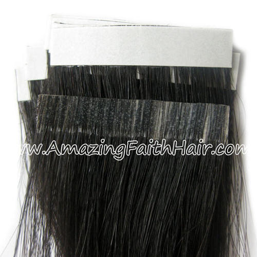 Tape-on PU Weft Hair
