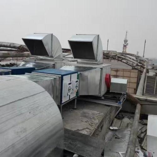 北京全聚德厨房排油烟项目