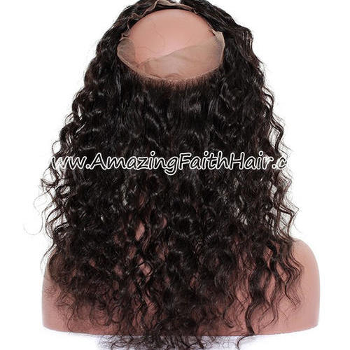 360 Lace Frontal Curly
