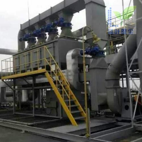 活性炭吸附浓缩+催化燃烧(CO)
