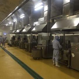 上海中饮食品车间排气项目