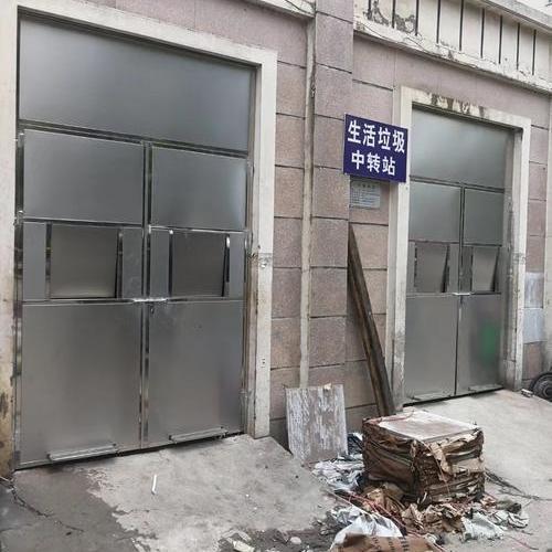 不锈钢垃圾房门