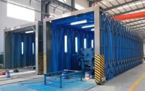 移动伸缩式喷漆房废气用哪种工艺处理比较好?