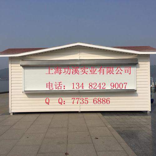 PVC挂板岗亭