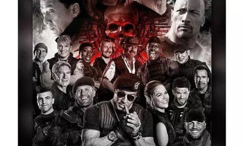 美国好莱坞影片《敢死队4》已于12月4日开机!