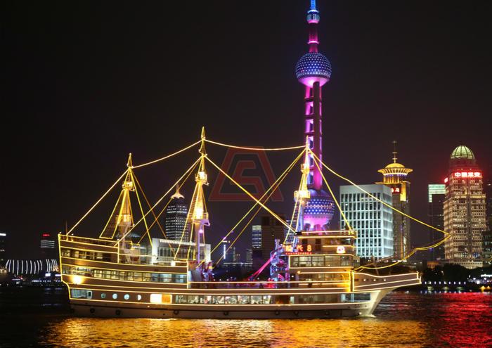 黄浦江游轮-船长8号(海盗船)
