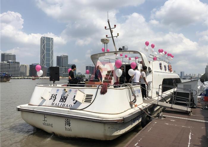 黄浦江游轮-玛丽号