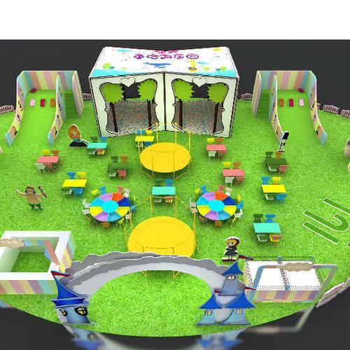 儿童乐园设计,SI设计