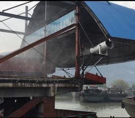 巢湖宏光矿码头降尘