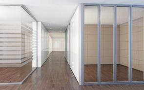 发展玻璃隔断绿色建筑可以高效率的利用资源
