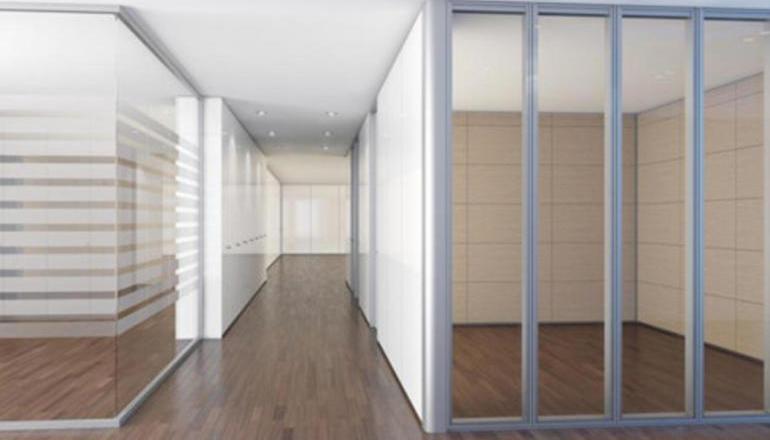 上海办公室装修之办公司玻璃隔断怎么做?