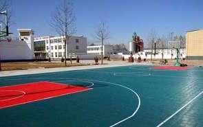 硅PU球场的篮球如何进行保养操作