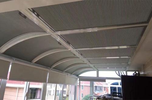 蜂巢帘,上海煜斓遮阳工程有限公司