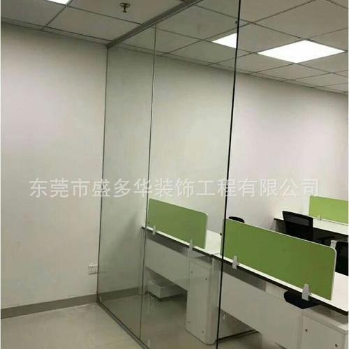 东莞办公室玻璃隔断工程公司