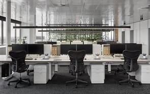 上海办公室装修设计的风水格局