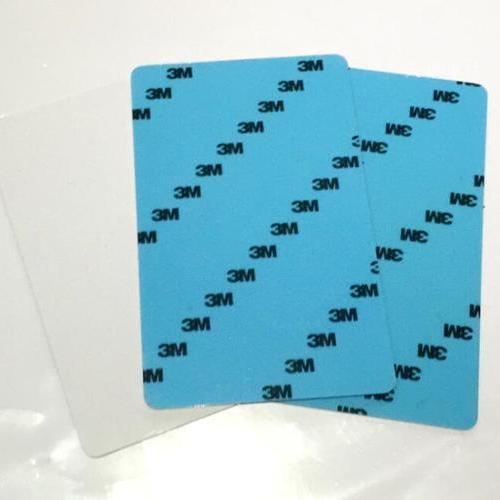 胸卡证卡打印机专用卡片3M底纸带胶PVC贴片卡