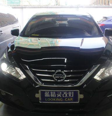 上海改装车灯日产天籁升级睛明海拉5套装