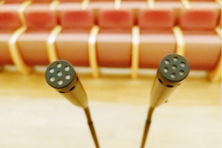 上海交響樂團音樂廳使用Audix話筒,MicroBoom? 碳纖維話筒桿