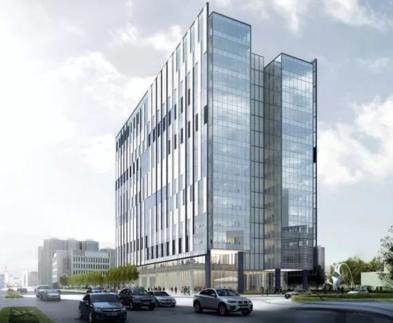 上海浦東新區鋼結構裝配辦公樓