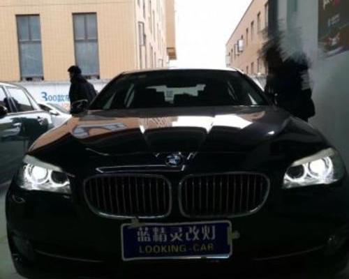 上海改灯店 宝马5系改装立盯OLED大灯见证你的光明
